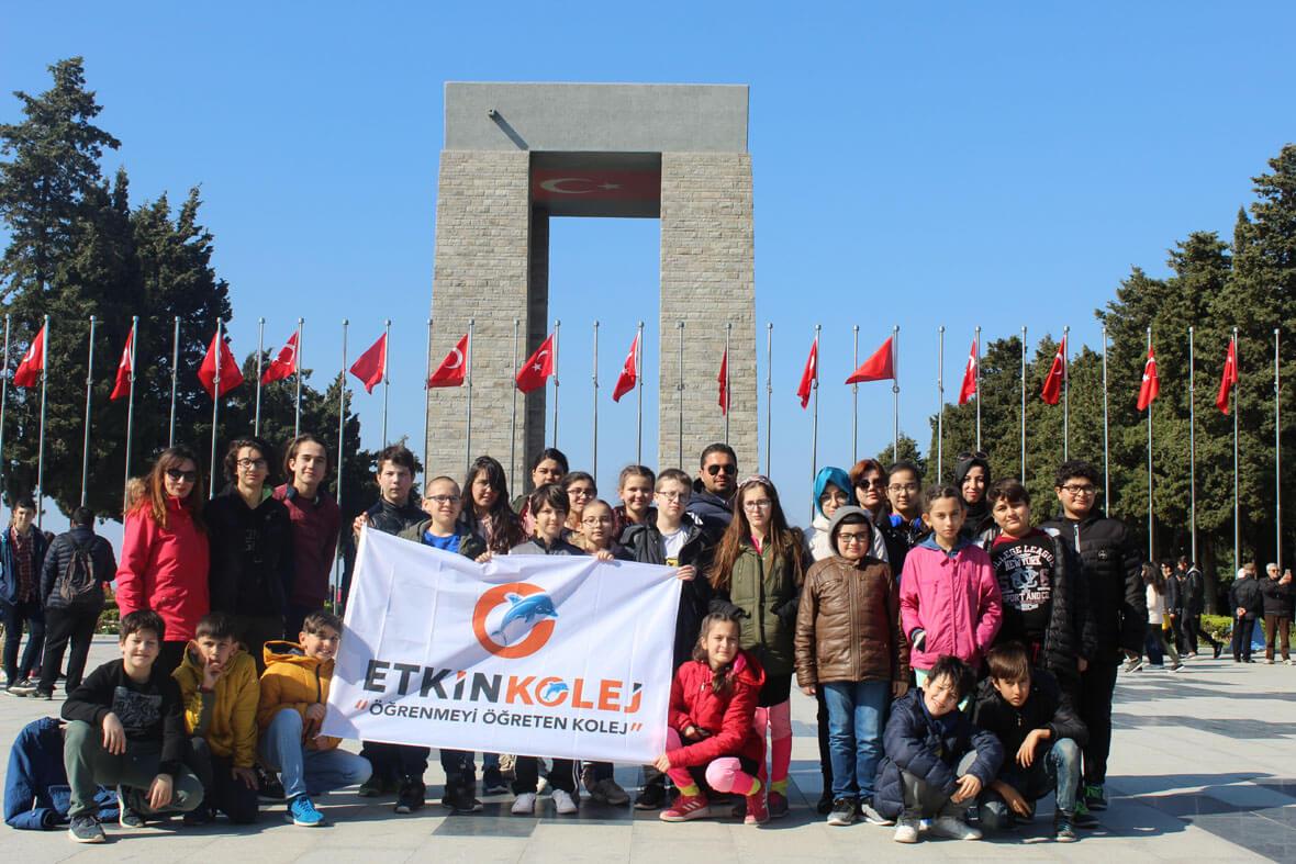 Etkin Kolej | Çanakkale Gezisi