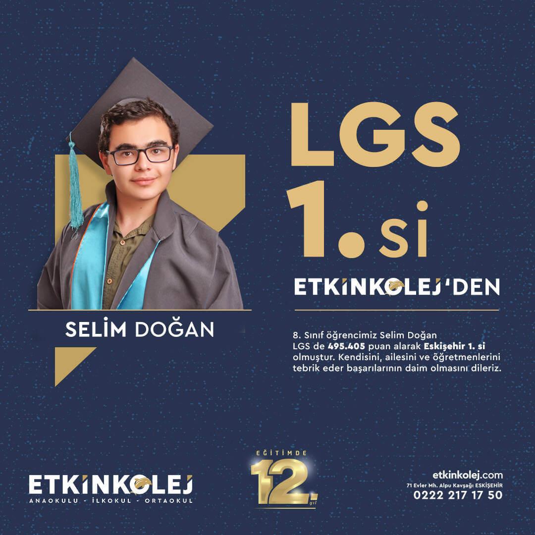 Etkin Kolej | LGS 1.si Etkin Kolej'den