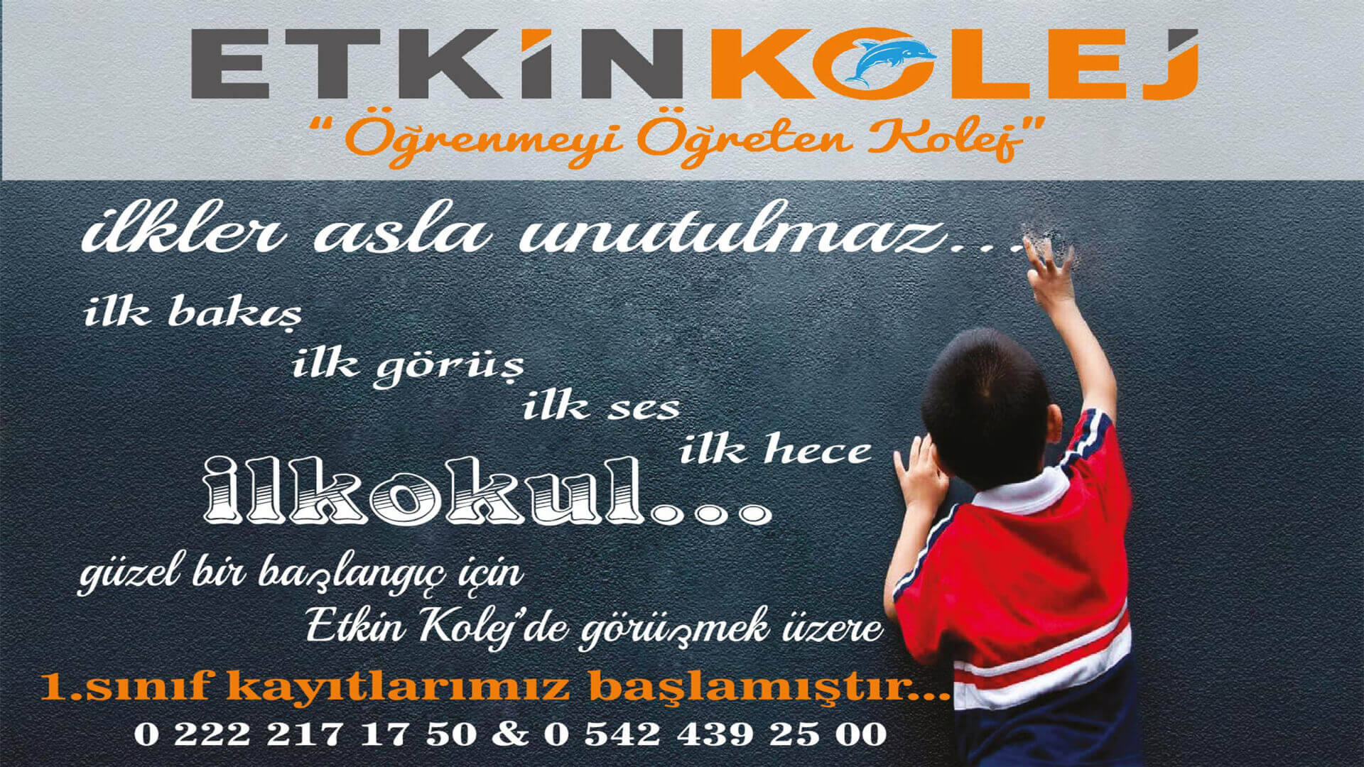 Etkin Kolej | İLKLER ASLA UNUTULMAZ !!!